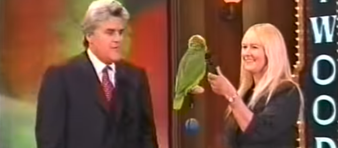 groucho the parrot wins big on the tonight show
